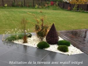 réalisation de terrase à Lille