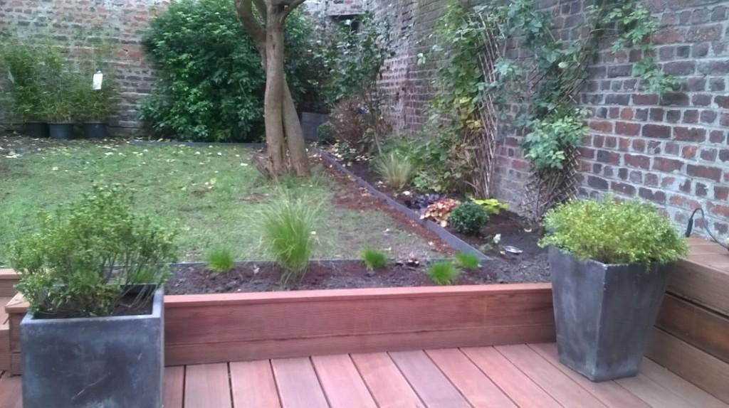 Aménagement d'un jardin à la Madeleine