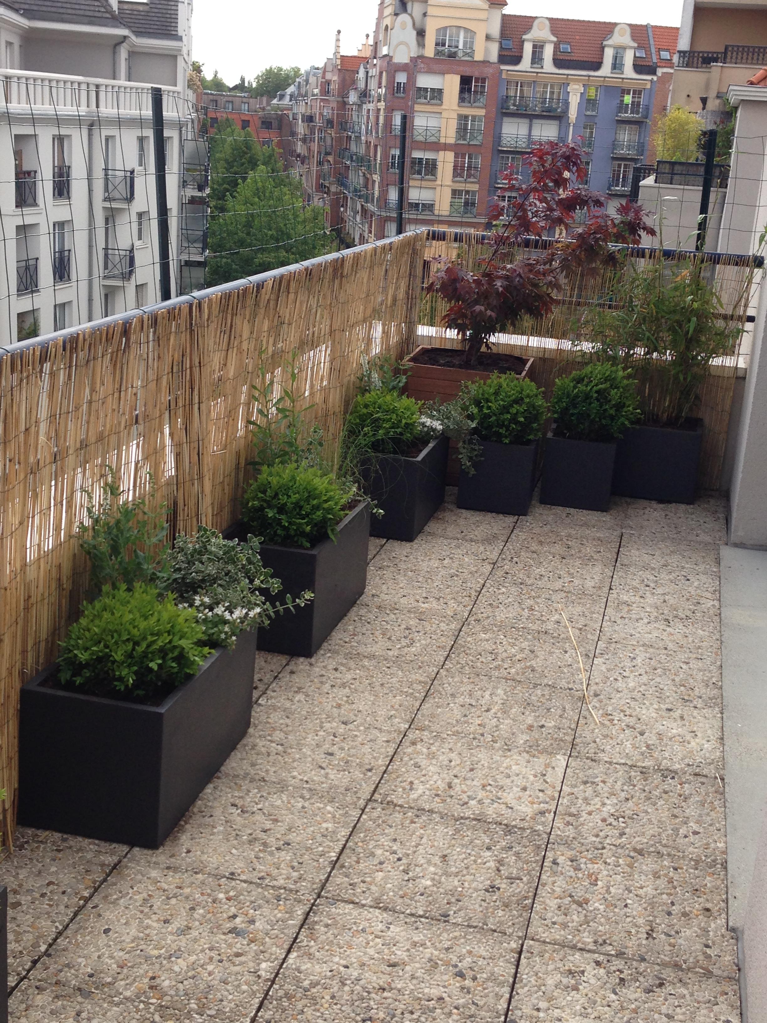 Aménagement terrasse à Lille