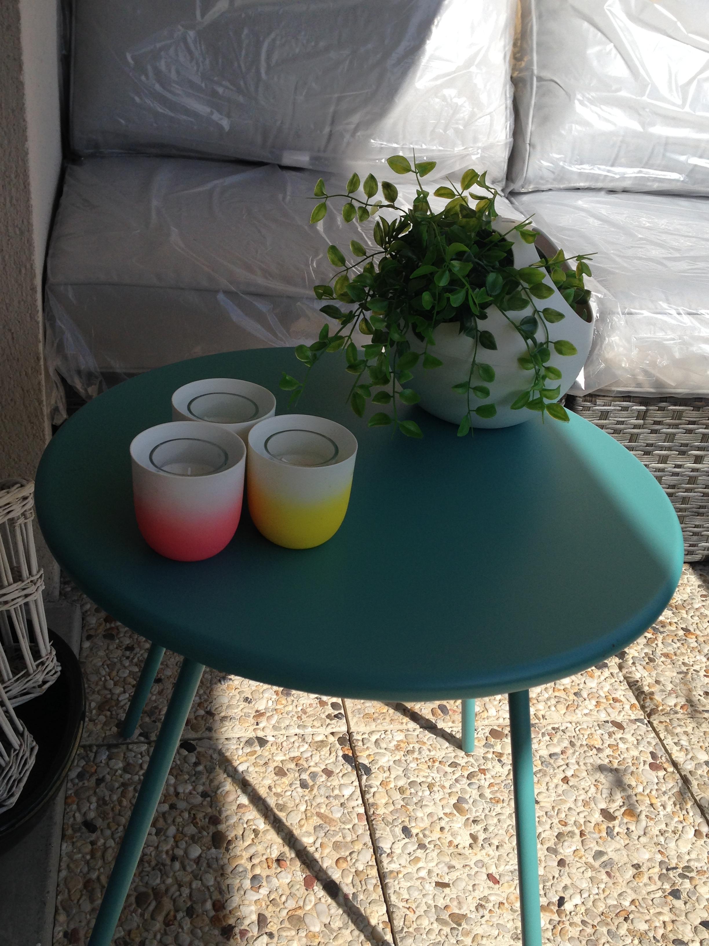 Mobilier et déco à sur terrasse à Lille pour garden staging