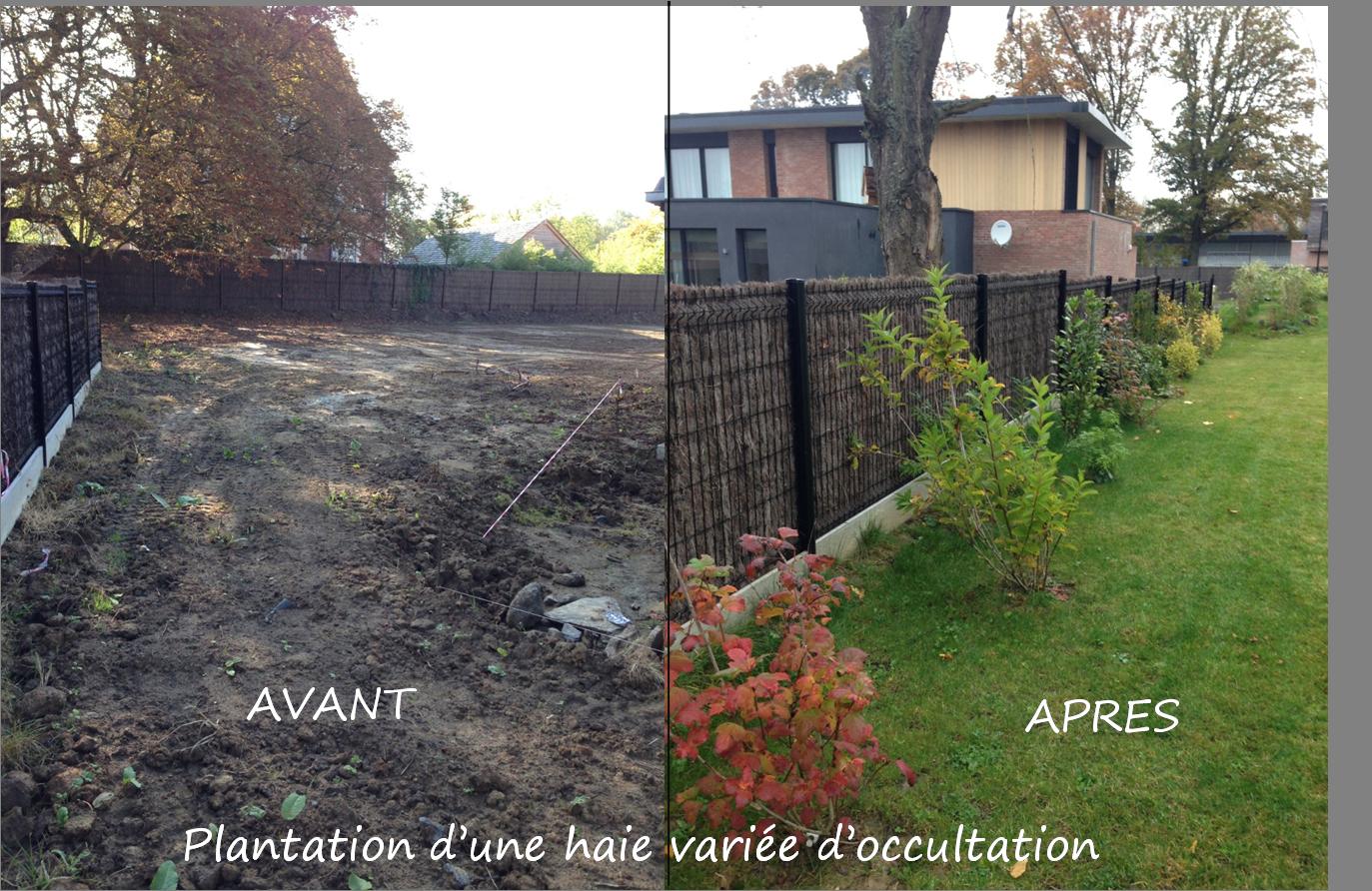Nos r alisations - Amenagement jardin maison neuve ...