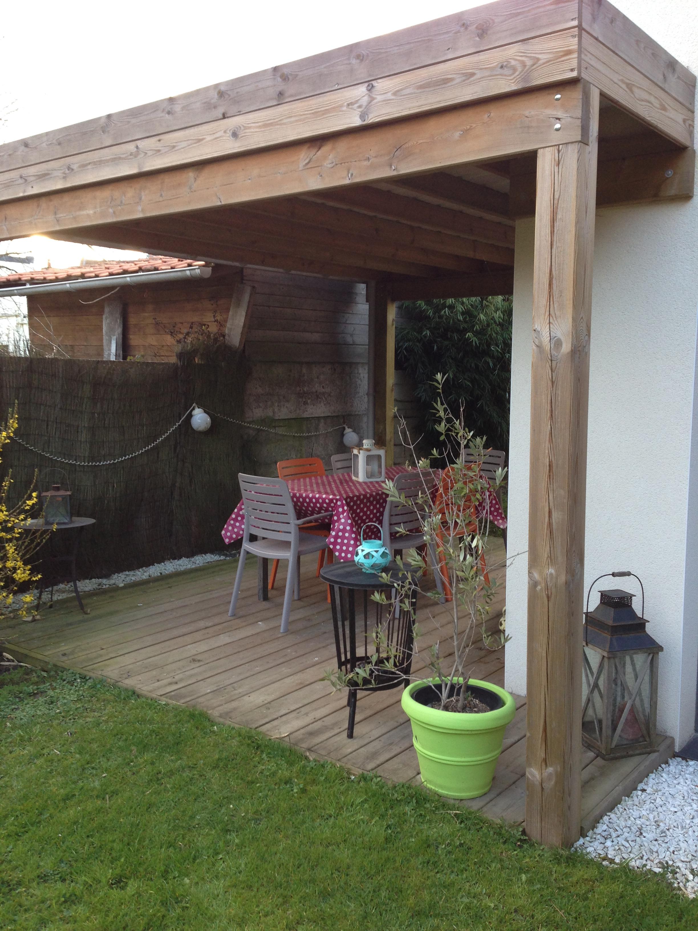 terrasse couverte près de Villeneuve d'ascq