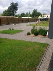 Aménagement extérieur moderne design près de Lille