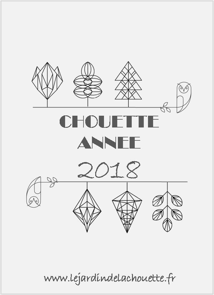 Voeux 2018 Le Jardin de la Chouette