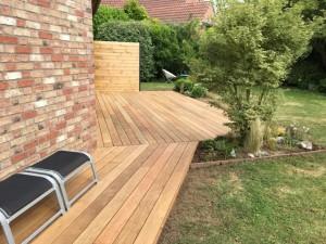 création de terrasse bois à Villeneuve d'ascq (4)