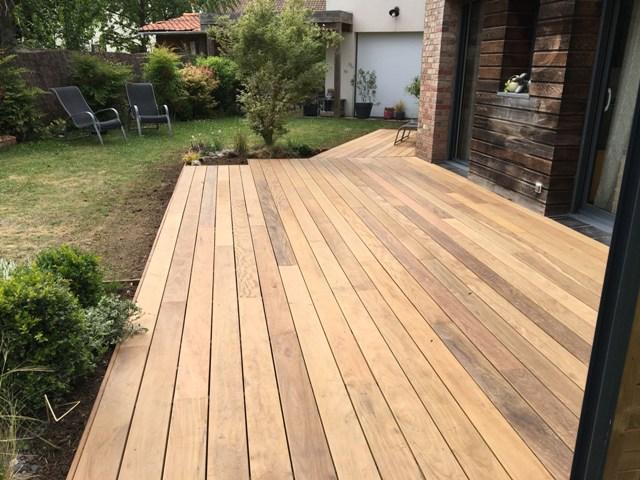 création de terrasse bois à Villeneuve d'ascq (5)