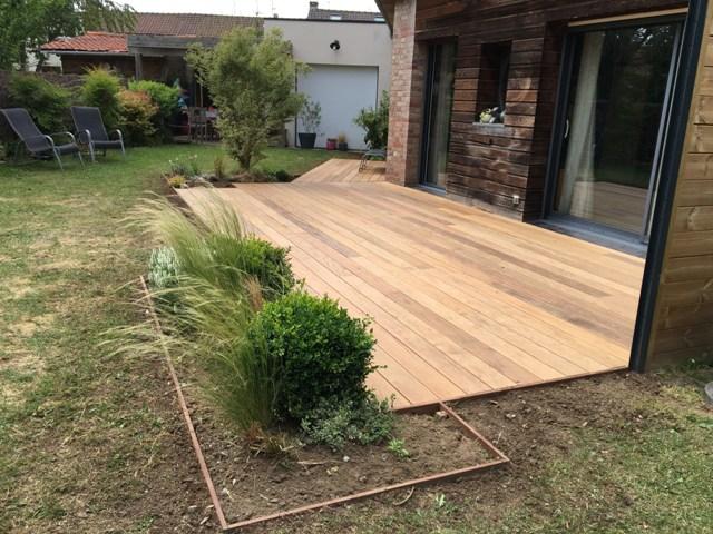 création de terrasse bois à Villeneuve d'ascq (6)