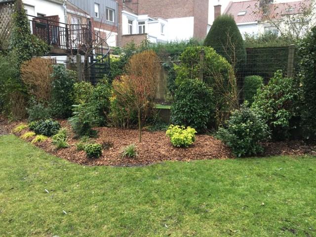 Aménagement de jardin près de Lille