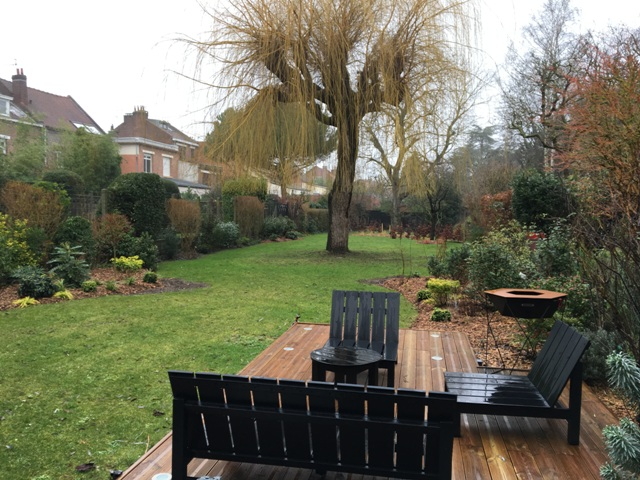 création de jardin près de Lambersart
