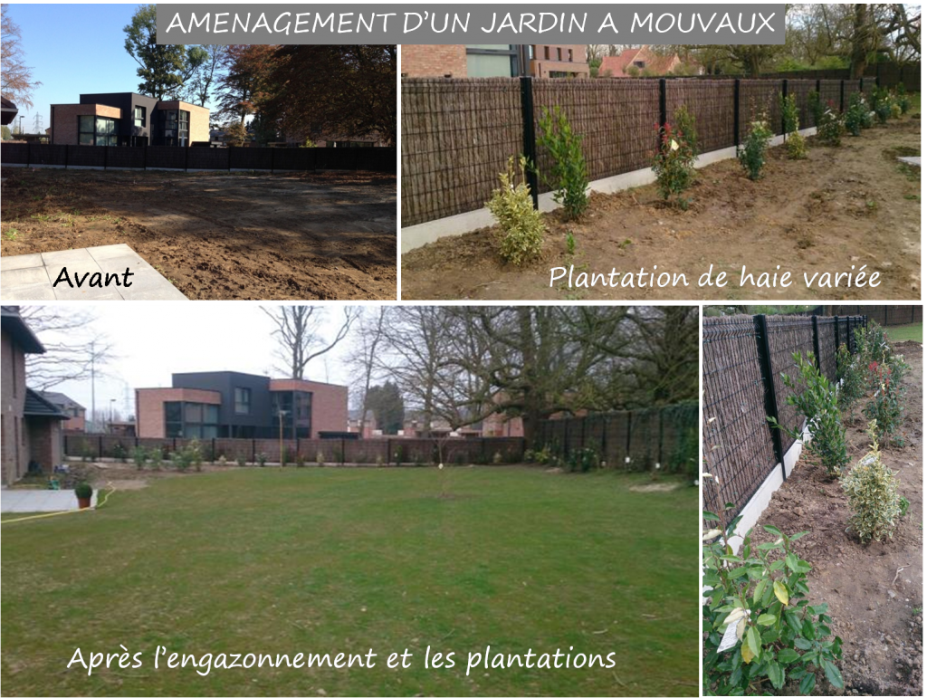Aménagement Jardin près de Lille