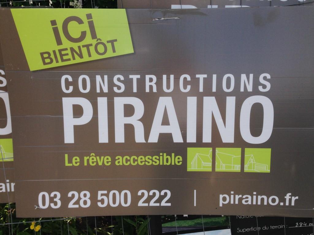 Aménagement de jardin pour Une maison témoin Piraino près de Lille